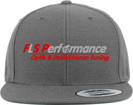 "FLS-Performance - Cap""Snapback"" in Dunkelgrau"