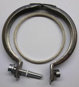 Orig. Seat Teile - Dichtung & Schelle für Downpipe Seat Leon (5F) 1.8 / 2.0 TSI