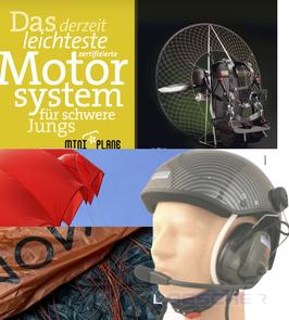 Das Motoreinsteigerset 3 für den leichten Piloten