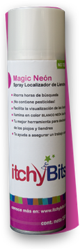 Magic Neón Spray localizador de liendres