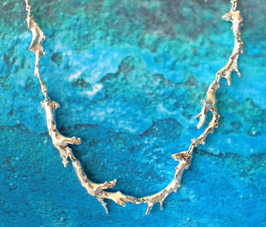 Large Coral Necklace  COR 1