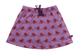 Skort (Rock mit Hose) mit Pferdedruck in light-dark lavender, Artikelnr. 201 11 01