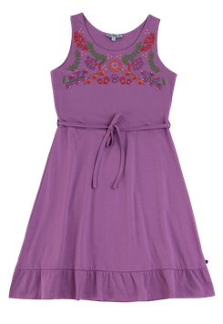 Jerseykleid Mama Stickerei in light lavender, Artikelnr. 201 50 01