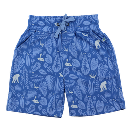 Jersey Shorts Jungle Druck in blue-light sky, Artikelnr. 201 09 02
