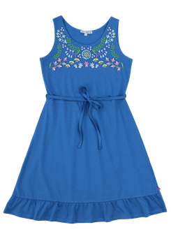 Jerseykleid Mama Stickerei in blue, Artikelnr. 201 50 02