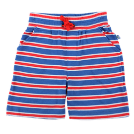 Jersey Shorts Streifen in blue-red, Artikelnr. 201 09 05
