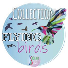 Collection Flying Birds