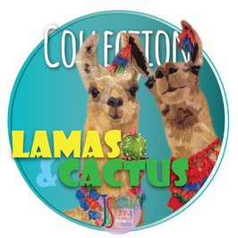 Collection Lamas & Cactus