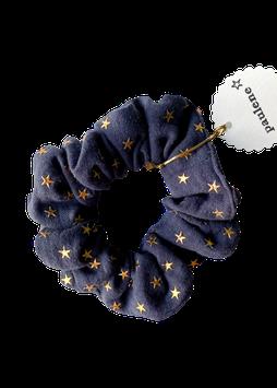 SCRUNCHIE star dark grey