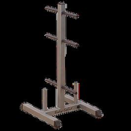 Body Solid Scheibenständer und Stangenhalter 30 mm GSWT
