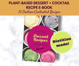 Flexitarian Dessert + Cocktail Recipe E-Book