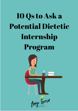10 Questions to Ask a Potential Dietetic Internship Program