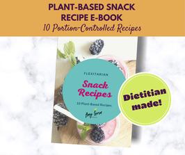 Flexitarian Snack Recipe E-Book