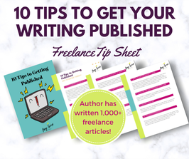 10 Tips to Getting Published