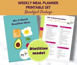 Mix & Match Breakfast Ideas