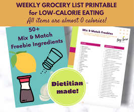 Low-Calorie Grocery List