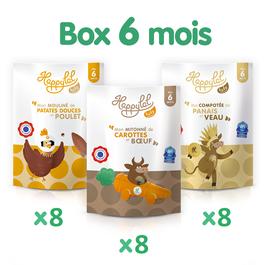 La Happylal Baby Box 6 mois - 24 repas