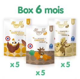 La Happylal Baby Box 6 mois - 15 repas