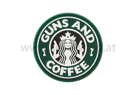 "Patch ""Guns and Coffee"""