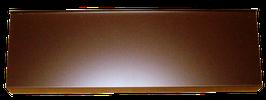 Aluminium Braun RAL 8017