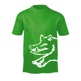 "T-Shirt ""Keiler"" aromahopfengrün -regular fit-"
