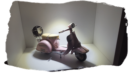 VESPA MINIATURE ROSE