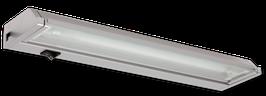 Applique fluorescente corps aluminium 8W ou 13W avec réflecteur basculant
