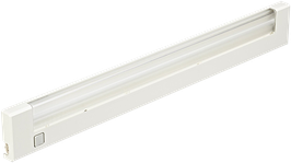 Applique fluorescente ABS 8W ou 13W, blanc ou gris aluminium.