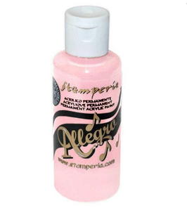 Stamperia Allegro Paint-Pastel Pink