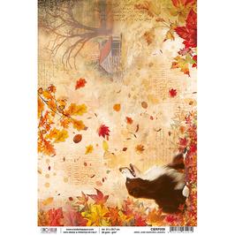 Ciao Bella Reispapier-The Sound of Autumn CBRP059
