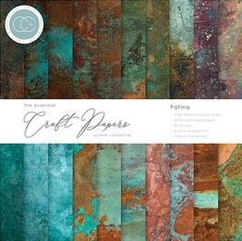 """Craft Consortium-Paper Pad/Patina 6x6"""""""