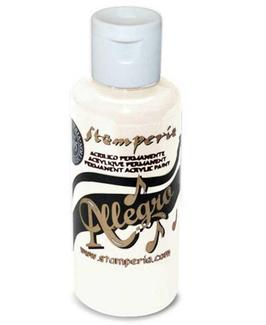 Stamperia Allegro Paint-White