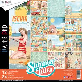 """Ciao Bella-Paper Pad Summer Tales (1) 12x12"""""""