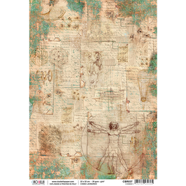 Ciao Bella-Reispapier/CBR037-I codici
