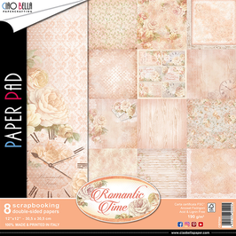 Scrapbooking Papier Ciao Bella-Romantic Time 12x12""