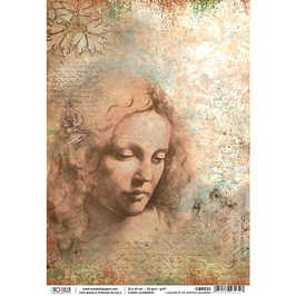 Ciao Bella Reispapier-Codex Leonardo CBR033