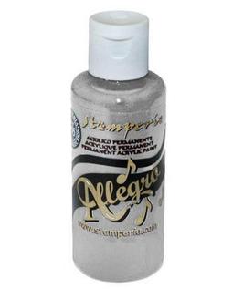 Stamperia Allegro Paint-Grey