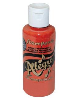Stamperia Allegro Paint-Warm Red