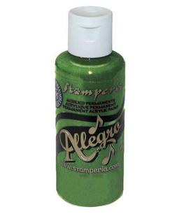 Stamperia Allegro Paint-Leaf Green