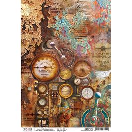 Ciao Bella Reispapier-Collateral Rust CBRP074