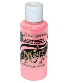 Stamperia Allegro Paint-Pink