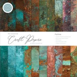 """Craft Consortium-Paper Pad/Patina 12x12"""""""