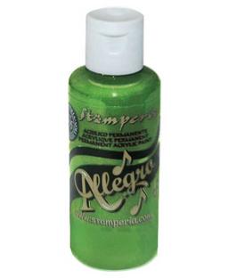 Stamperia Allegro Paint-Garden Green