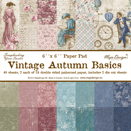 Maja Design-Vintage Autumn Basics 6x6""
