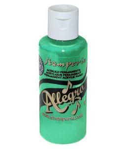Stamperia Allegro Paint-Brilliant Green