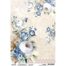 Ciao Bella-Reispapier/CBRP051-Il giardino di Lucrezia