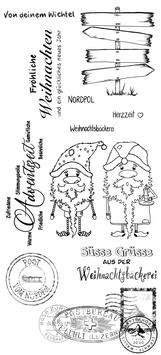 einfach-perfekt-Clear Stamps/Weihnachts Kollektion #001