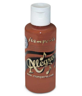 Stamperia Allegro Paint-Earth Brown