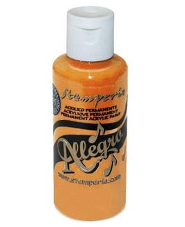 Stamperia Allegro Paint-Orange