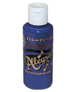 Stamperia Allegro Paint-Oriental Blue